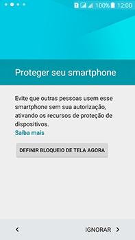 Samsung Galaxy J7 - Primeiros passos - Como ativar seu aparelho - Etapa 11