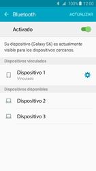 Samsung Galaxy S6 - Bluetooth - Conectar dispositivos a través de Bluetooth - Paso 8