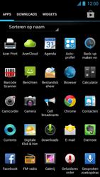 Acer Liquid S1 - E-mail - Hoe te versturen - Stap 3