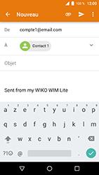 Wiko WIM Lite - E-mails - Envoyer un e-mail - Étape 7