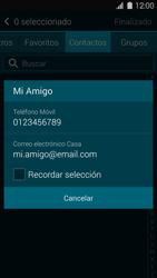 Samsung G900F Galaxy S5 - Mensajería - Escribir y enviar un mensaje multimedia - Paso 7