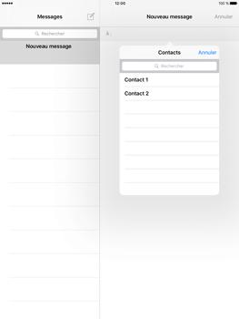 Apple iPad Pro 9.7 - iOS 10 - iOS features - Envoyer un iMessage - Étape 9