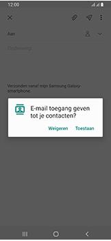 Samsung galaxy-a40-dual-sim-sm-a405fn - E-mail - Hoe te versturen - Stap 6