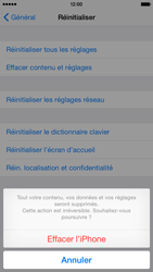 Apple iPhone 6 iOS 8 - Appareil - Restauration d