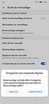 Huawei P20 lite - Sécuriser votre mobile - Activer le code de verrouillage - Étape 11