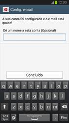 Samsung Galaxy S3 - Email - Adicionar conta de email -  10