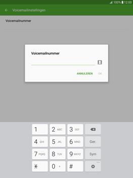 Samsung T815 Galaxy Tab S2 9.7 - Voicemail - Handmatig instellen - Stap 8