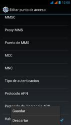 Wiko Stairway - Internet - Configurar Internet - Paso 18