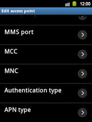 Samsung S5360 Galaxy Y - Internet - Manual configuration - Step 9