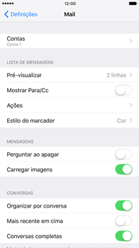 Apple iPhone 7 Plus - Email - Configurar a conta de Email -  28