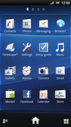 Sony Xperia Neo V - MMS - Sending pictures - Step 2