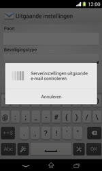 Sony D2005 Xperia E1 - E-mail - Account instellen (IMAP zonder SMTP-verificatie) - Stap 15