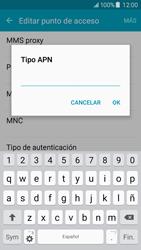 Samsung Galaxy J5 - Mensajería - Configurar el equipo para mensajes multimedia - Paso 11