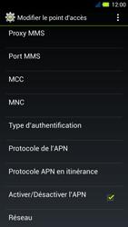 Acer Liquid E3 - Internet - Configuration manuelle - Étape 14