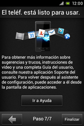 Sony Xperia E - Primeros pasos - Activar el equipo - Paso 10