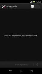 Sony Xperia L - Bluetooth - Conectar dispositivos a través de Bluetooth - Paso 5