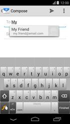 Acer Liquid E600 - E-mail - Sending emails - Step 6