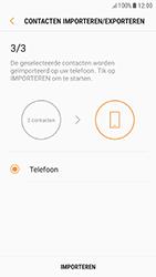 Samsung Galaxy A3 (2017) - Android Nougat - Contacten en data - Contacten kopiëren van SIM naar toestel - Stap 13