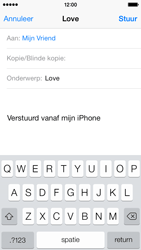 Apple iPhone 5c - E-mail - e-mail versturen - Stap 6