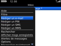 BlackBerry 9300 Curve 3G - E-mail - Envoi d