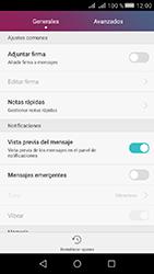 Huawei Y5 II - Mensajería - Configurar el equipo para mensajes de texto - Paso 5