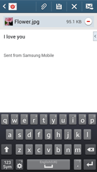Samsung Galaxy Core LTE - Email - Sending an email message - Step 19