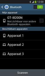Samsung I8200N Galaxy S III Mini VE - Bluetooth - Aanzetten - Stap 5
