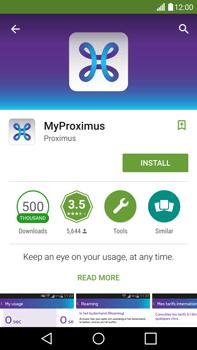 LG H815 G4 - Applications - MyProximus - Step 8