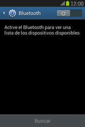 Samsung S6310 Galaxy Young - Bluetooth - Conectar dispositivos a través de Bluetooth - Paso 5