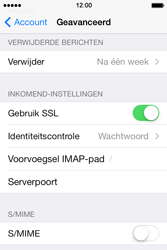 Apple iPhone 4 met iOS 7 - E-mail - Instellingen KPNMail controleren - Stap 22