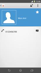 Sony Xpéria Z1 - Contact, Appels, SMS/MMS - Ajouter un contact - Étape 9