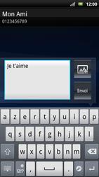Sony Ericsson Xpéria Arc - Contact, Appels, SMS/MMS - Envoyer un SMS - Étape 8