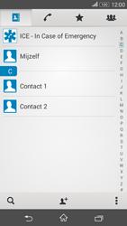 Sony E2003 Xperia E4G - Contactgegevens overzetten - delen via Bluetooth - Stap 4