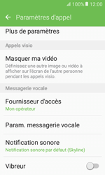 Samsung Galaxy Xcover 3 VE - Messagerie vocale - configuration manuelle - Étape 7