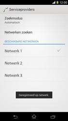 Sony D2303 Xperia M2 - Bellen - in het buitenland - Stap 10