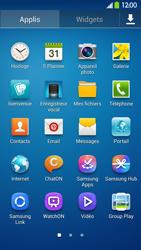 Samsung Galaxy S4 - Contact, Appels, SMS/MMS - Utiliser la visio - Étape 3