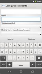 Sony Xperia M2 - E-mail - Configurar correo electrónico - Paso 10