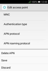 Alcatel Pixi 3 - 3.5 - MMS - Manual configuration - Step 16