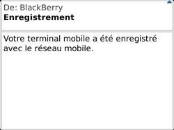 BlackBerry 9360 Curve - Paramètres - Reçus par SMS - Étape 11