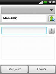 LG C660 Optimus Pro - E-mail - envoyer un e-mail - Étape 6