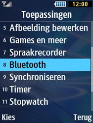 Samsung B2710 Xcover 271 - Bluetooth - Aanzetten - Stap 3