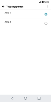 LG G6 H870 - Internet - Handmatig instellen - Stap 17
