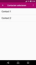 Sony xperia-x-compact-f5321-android-nougat - Contacten en data - Contacten kopiëren van SIM naar toestel - Stap 7