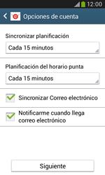 Samsung S7580 Galaxy Trend Plus - E-mail - Configurar correo electrónico - Paso 17