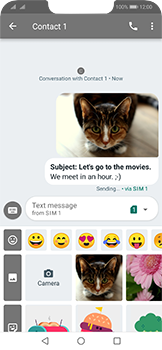Huawei Mate 20 Lite - MMS - Sending a picture message - Step 18