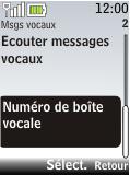 Nokia 2720 fold - Messagerie vocale - Configuration manuelle - Étape 5