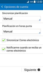 Samsung Galaxy Core Prime - E-mail - Configurar correo electrónico - Paso 17