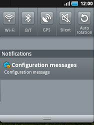 Samsung S5570 Galaxy Mini - MMS - Automatic configuration - Step 4