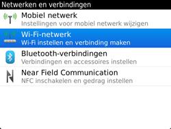 BlackBerry 9900 Bold Touch - WiFi - Handmatig instellen - Stap 6