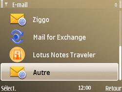 Nokia E72 - E-mail - Configuration manuelle - Étape 7